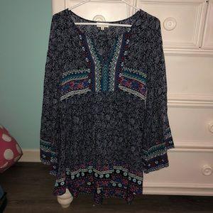 Patterned dress/top